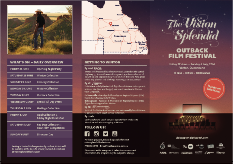 The Vision Splendid, Outback Film Festival